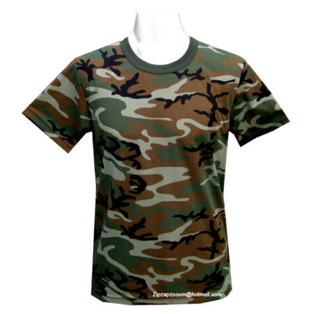 img-Mens Army Military Combat T-shirt US Desert Woodland Urban Tiger Stripe Camo New