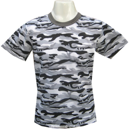 img-Mens Army Military Combat T-shirt Desert Woodland Urban Grey Tiger Stripe Camo