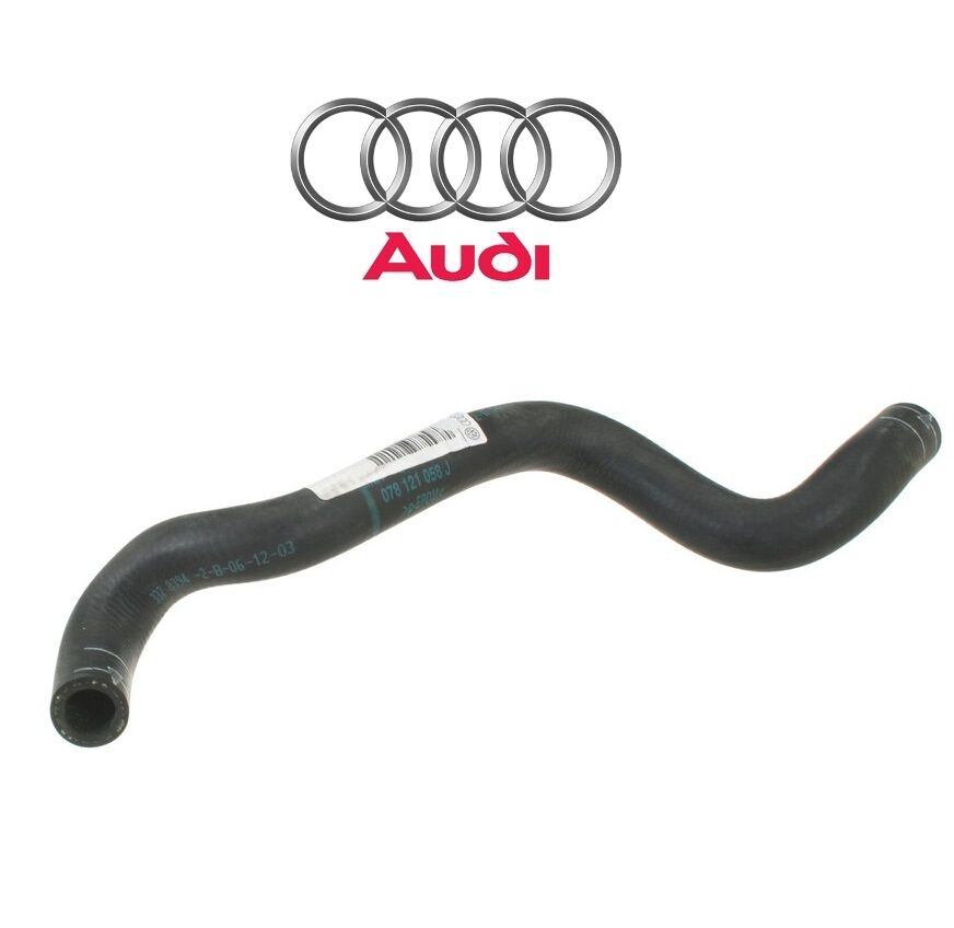 NEW Audi A4 A6 Quattro 2.8L V6 Cooling Hose Engine Oil Cooler To Pipe Genuine | eBay