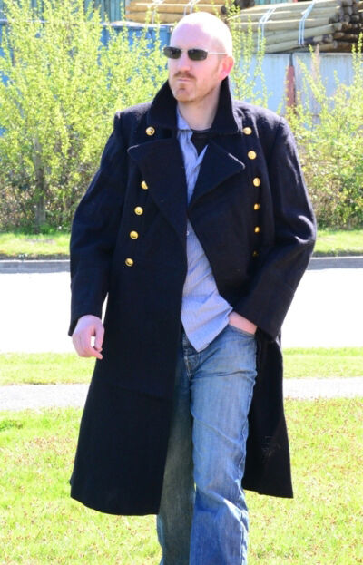 Russian army overcoat