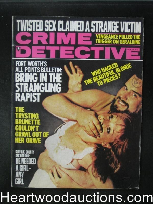Seems brilliant Sex crime detective touching words