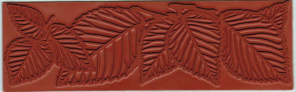 Leaf Borders Designs 6 75 X 2 Inch Rubber Stamping Mat Art