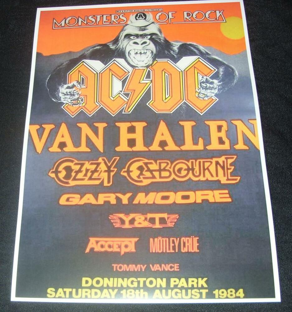 acdcmonsters of rock donington park uk august 18th 1984