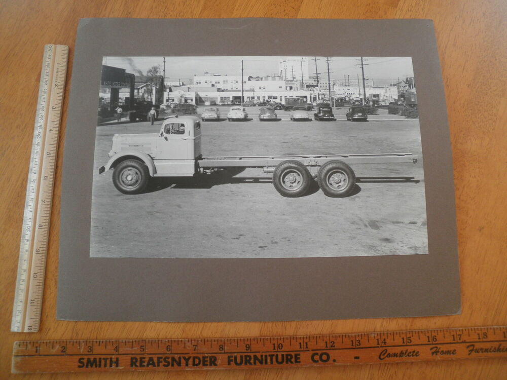 1950 39 s photo white motor company truck library school for White motor company trucks