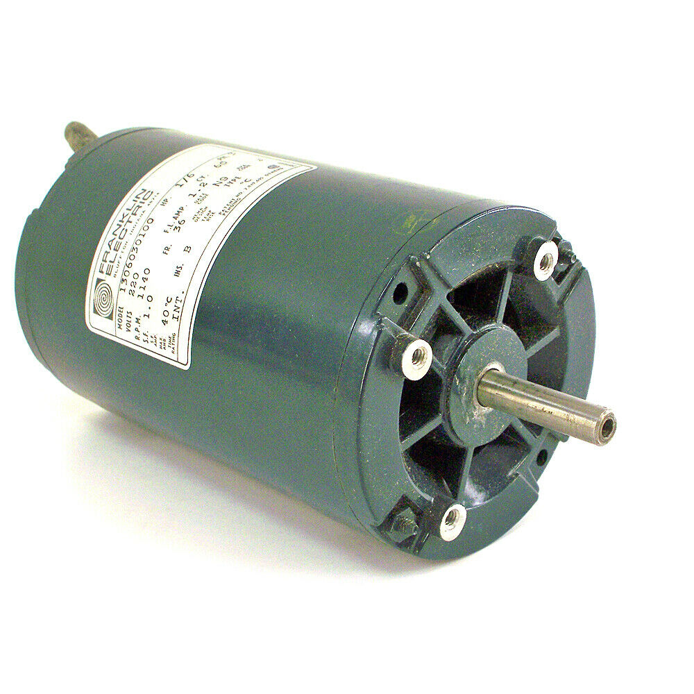 Franklin electric 220volt 1 6 hp motor 1306030100 ebay for Old ben franklin motors inventory