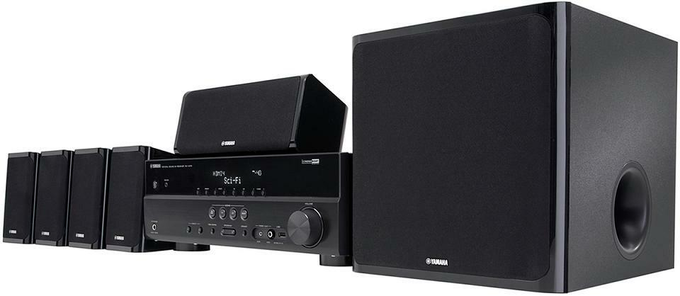 Yamaha   Ch Home Theater System Yht Bl