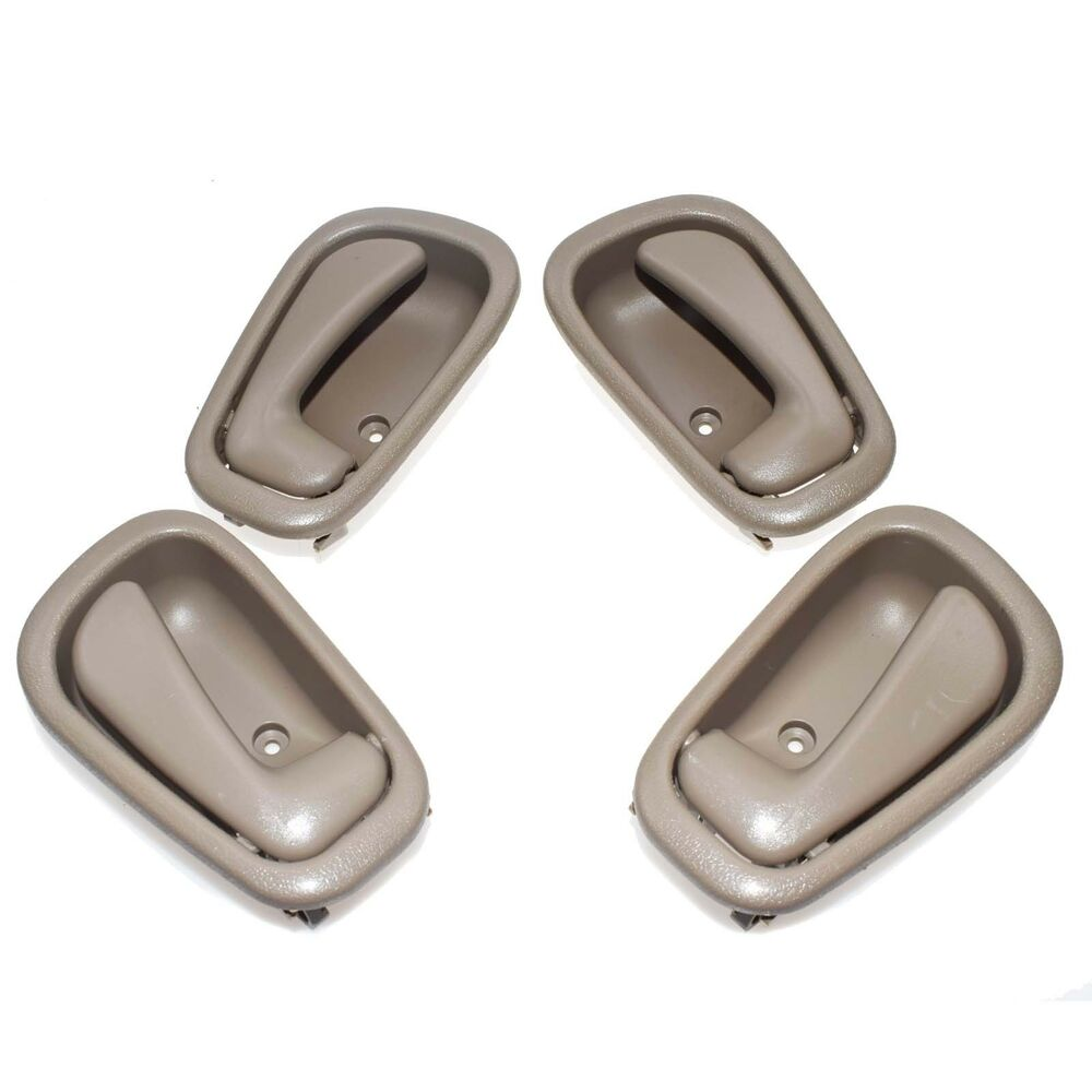 New Inner Inside Door Handle 4pcs Fit For Toyota Corolla Geo Prizm 1998 2002 Ebay