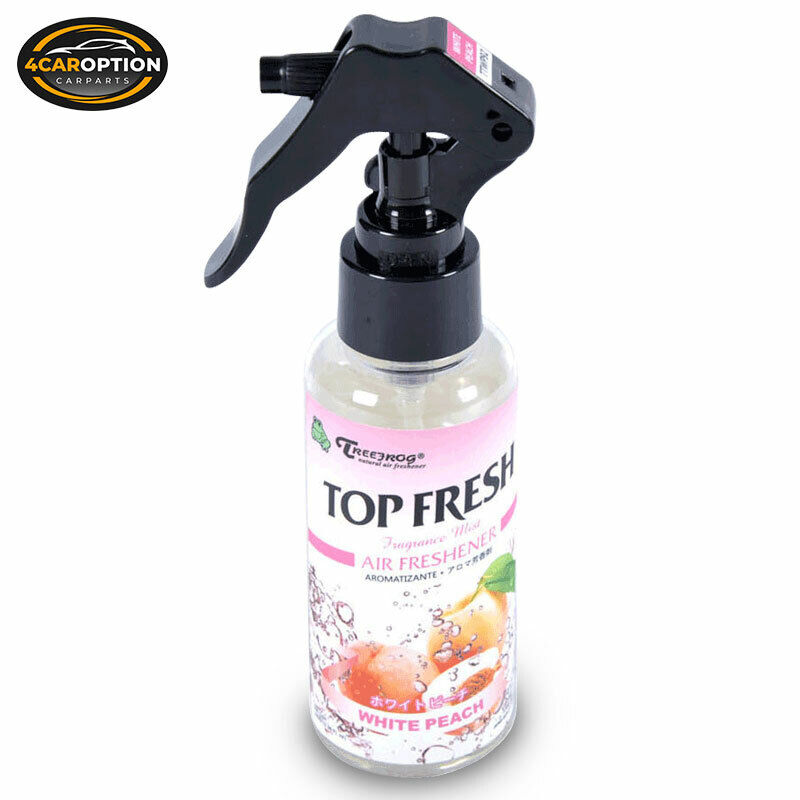 White peach fragrance mist spray treefrog tree frog top for What is the best air freshener for your home