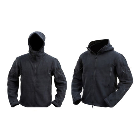 img-Mens Military Army Combat Recon Hoodie Fleece Hoodies Black Green Zip Jacket New