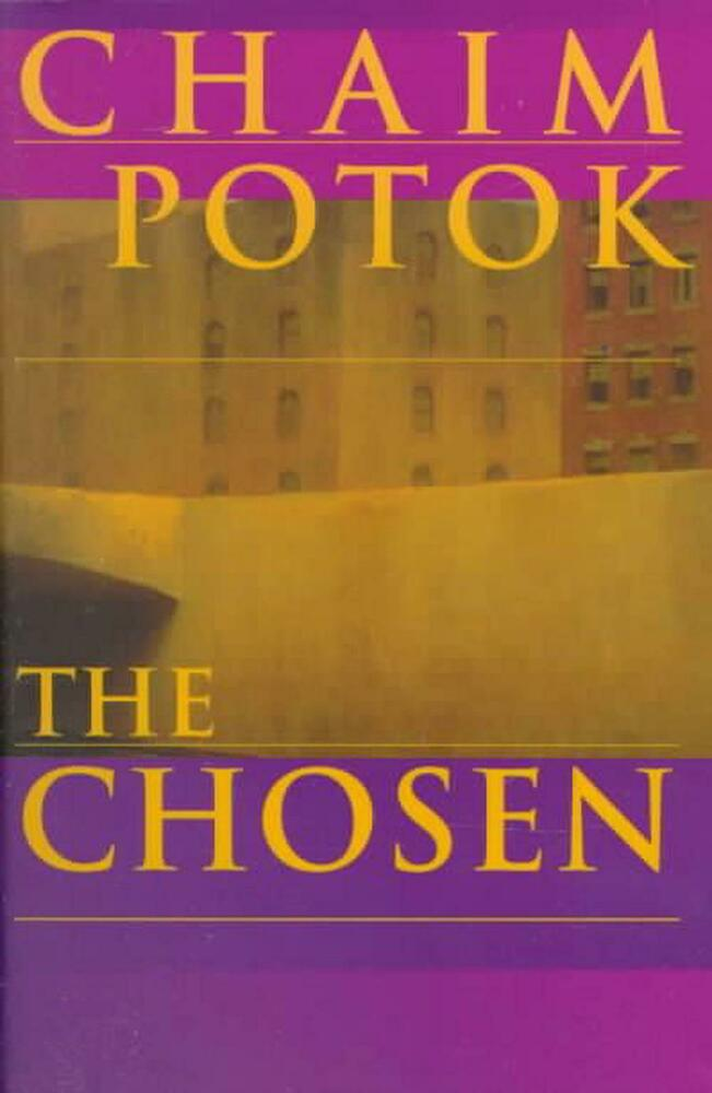 an analysis of the chosen a fiction novel written in 1967 by chaim potok Study guide for the chosen by chaim potok  1967, was actually his second novel  for potok, whose interest in fiction and literature was growing.