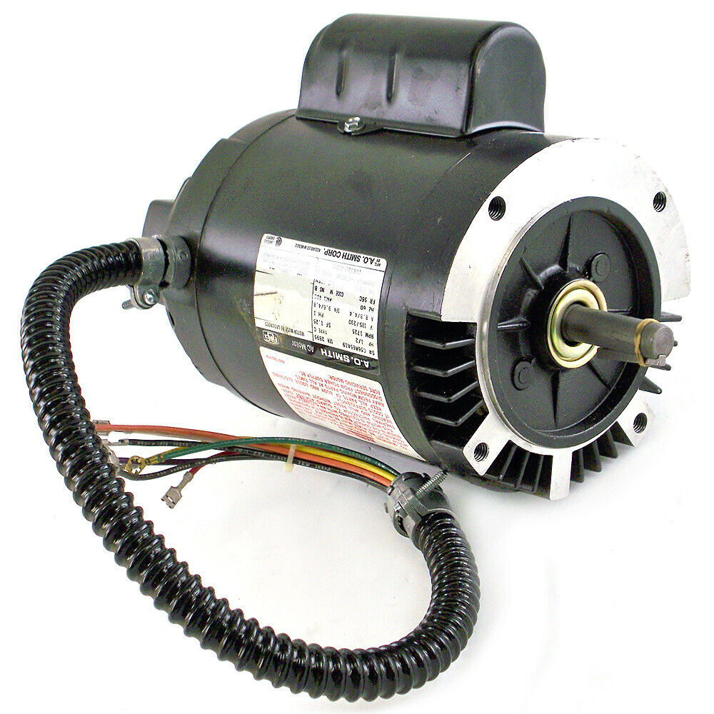 Ac motor a o smith hp 115v new ebay Ac motor 1 hp