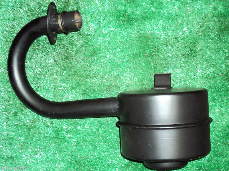 Lawn Tractor Exhaust : Snapper rear engine riding lawn mower muffler with pipe ebay