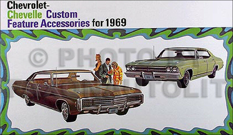 1969 chevy accessory catalog 69 el camino malibu chevelle