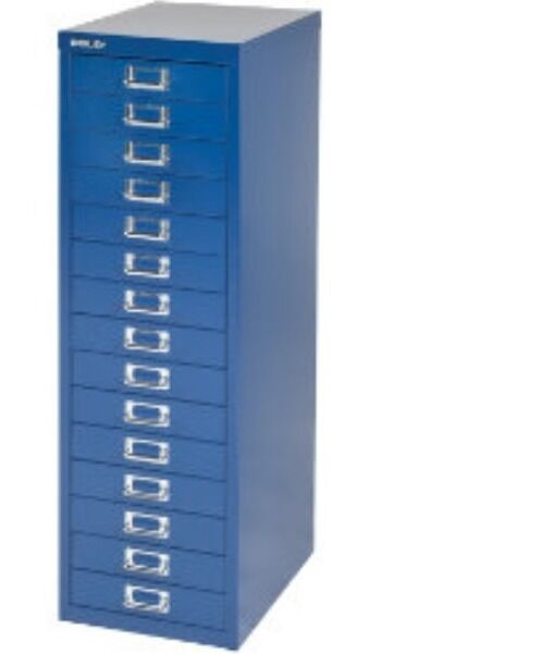 2 X Bisley 15 Multi Drawer Filing Cabinets Brand New
