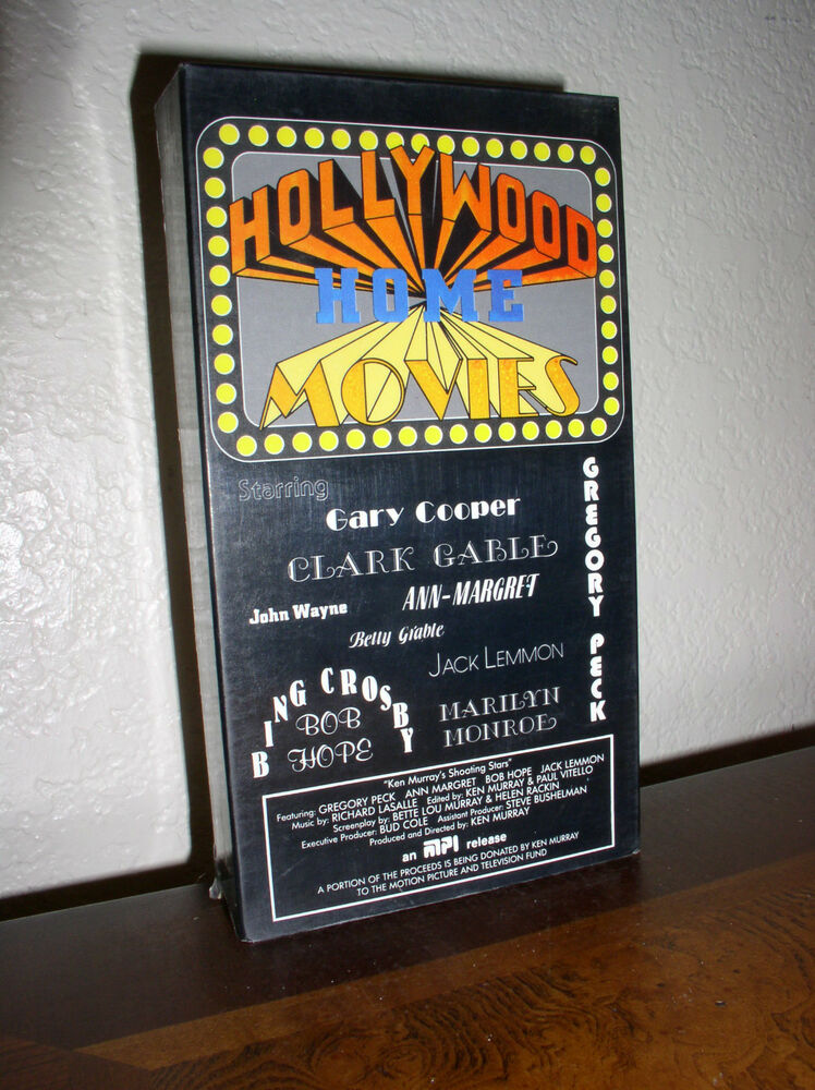The Vcr From Heck Fifty Cartoons Week Tuesday 50: Hollywood Home Movies (VHS, 1986)