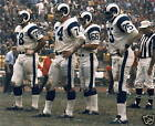 THE LOS ANGELES RAMS FEARSOME FOURSOME 8X10 PHOTO