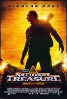 """NATIONAL TREASURE"" (2004) NICOLAS CAGE MOVIE SCRIPT SCREENPLAY REPRINT"