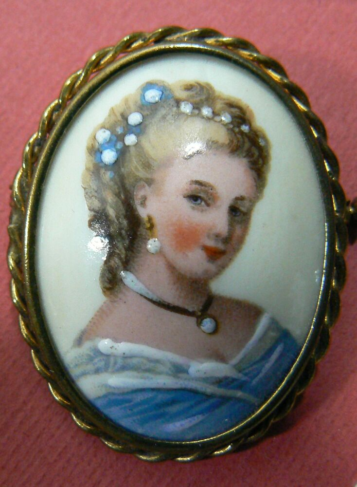 Unique Antique French Signed Limoges Jewelry Box : Juliet ... |Limoges Jewelry