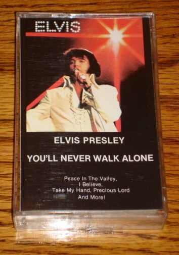 elvis presley you 39 ll never walk alone cassette ebay. Black Bedroom Furniture Sets. Home Design Ideas