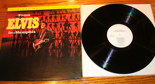 Elvis Presley Mfsl From Elvis In Memphis Lp Ebay