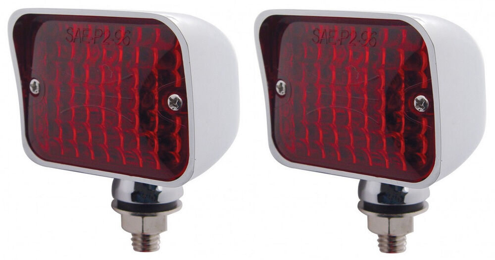 Hot Rod Turn Signals : Volt red hot rod taillights turn signal running