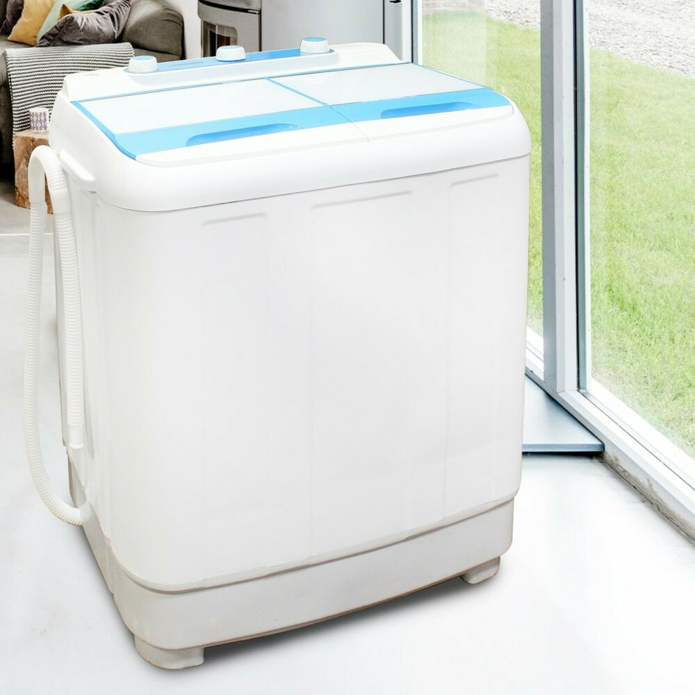 Washing Machine Twin Tub Compact 4.8kg Portable Washer ...