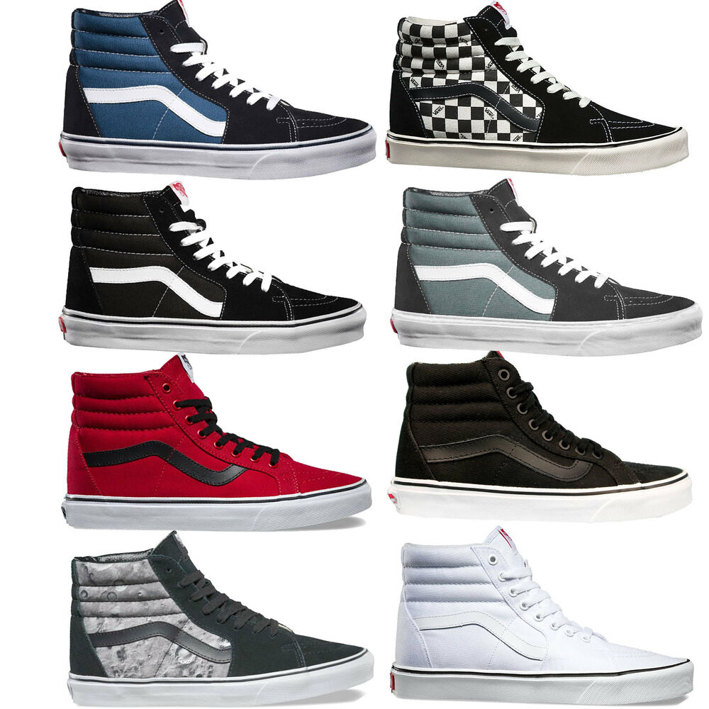 vans sk8 hi herren sneaker skaterschuhe high cut schuhe turnschuhe sportschuhe ebay. Black Bedroom Furniture Sets. Home Design Ideas