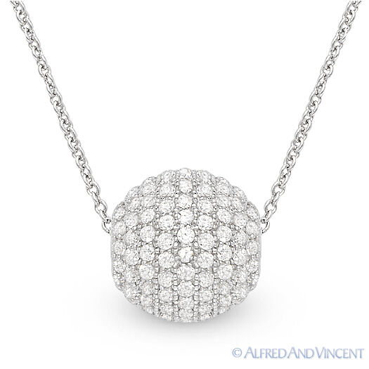 Diamond Ball Necklace Sale