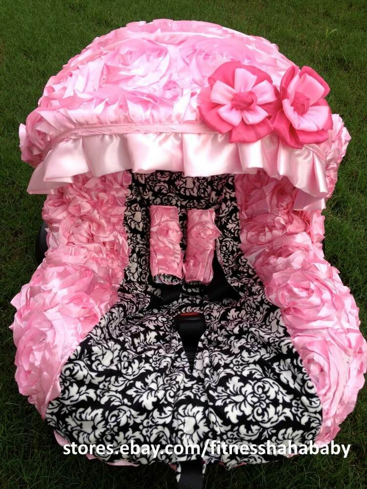 Damask Car Seat And Stroller