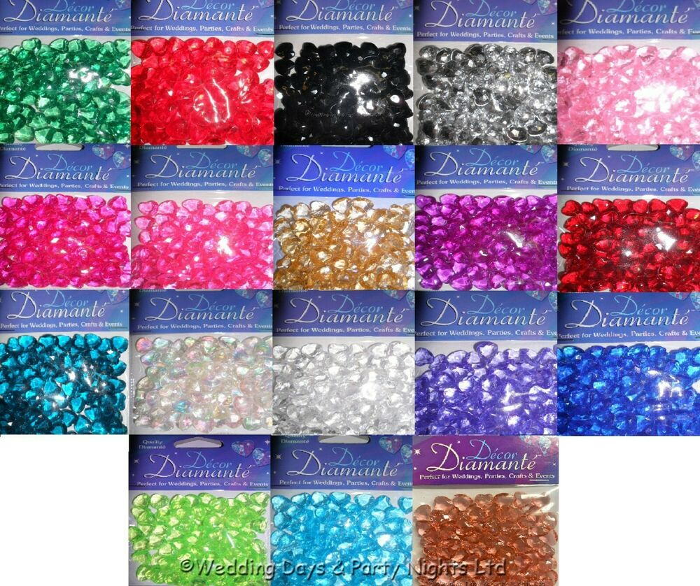 ... Crystals Wedding Engagement Party Table Confetti Decorations | eBay