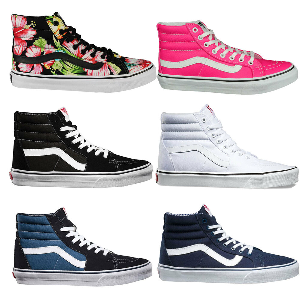 vans sk8 hi damen sneaker schuhe freizeitschuhe. Black Bedroom Furniture Sets. Home Design Ideas