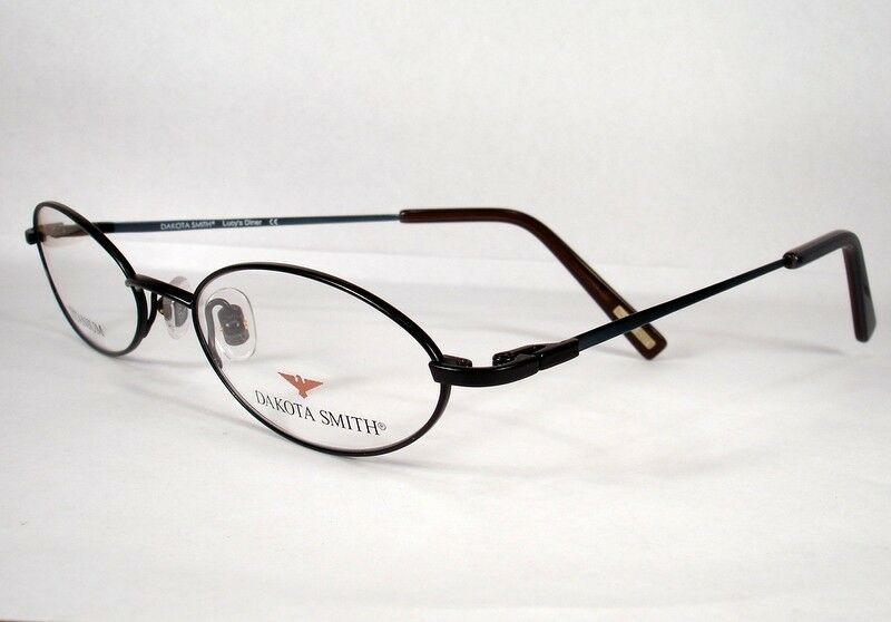 Eyeglasses Frames Titanium Womens : DAKOTA SMITH Lucys Diner Jet Black Titanium Women ...