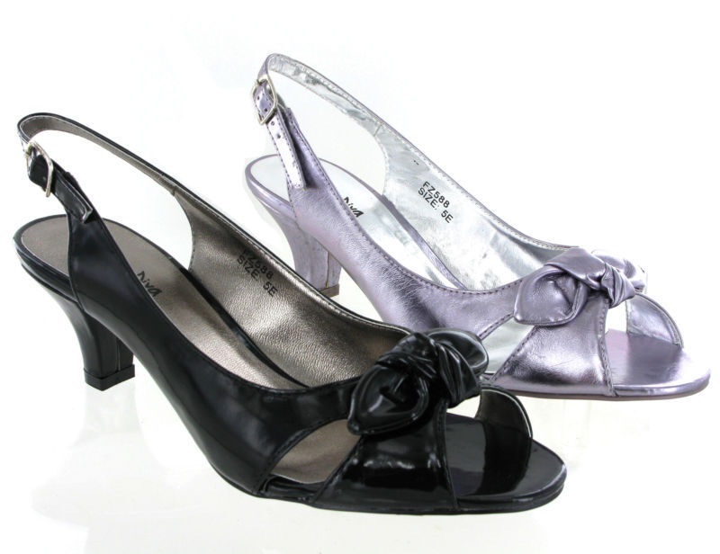 Ladies Wide Evening Shoes