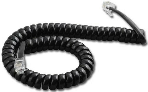 Polycom Soundpoint Voip 9 Ft Foot Phone Handset Curly