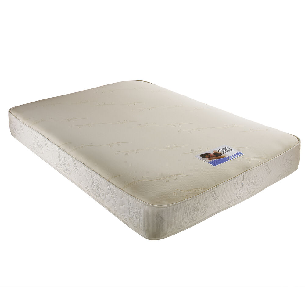Cheap 2ft6 small single 3ft single 4ft6 double 5ft king memory foam mattress ebay Double mattress memory foam