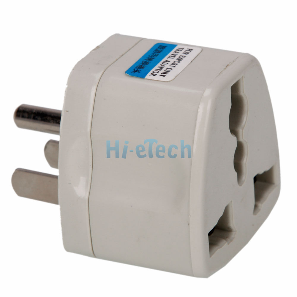 Universal Eu Au To Us Ac Power 3pin Plug Travel Adapter