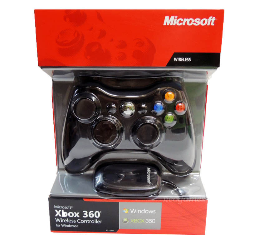 Official Microsoft Xbox 360 Wireless Controller for Xbox 360 and ...
