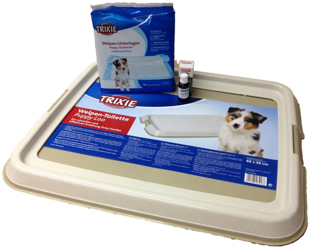 Trixie Puppy Loo Puppy Training Tray Option Of Pads