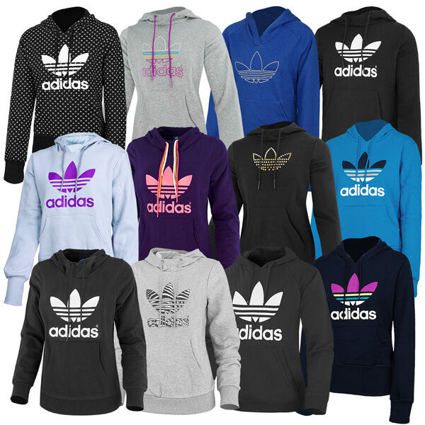 adidas trefoil hoodie womens hooded sweatshirt originals. Black Bedroom Furniture Sets. Home Design Ideas