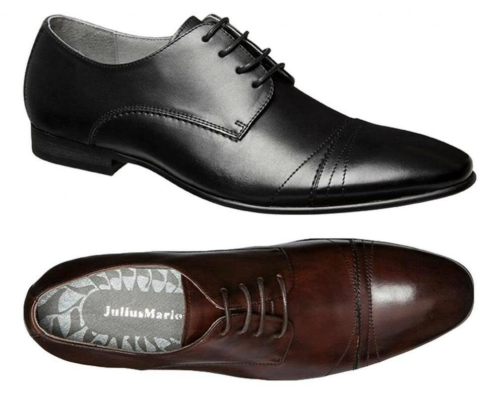 Mens Business Casual Shoes British Black
