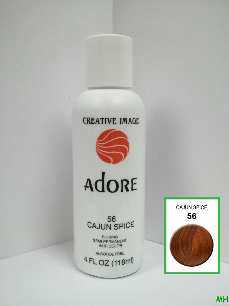 Creative Image Adore Semi Permanent Hair Color 56 Cajun Spice 4oz