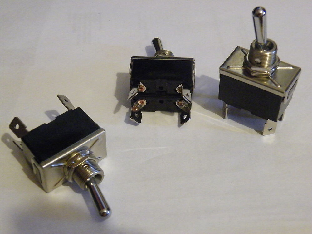 High Current Toggle Switch 10a 250v 20a 12v Dpst On Off