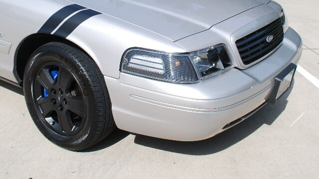 Crown Victoria Vic Grand Sport Stripes Decals P71 Police