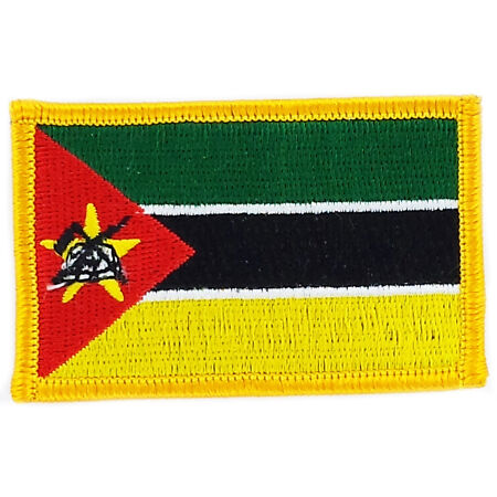 img-PATCH ECUSSON BRODE DRAPEAU MOZAMBIQUE INSIGNE THERMOCOLLANT NEUF FLAG PATCHE