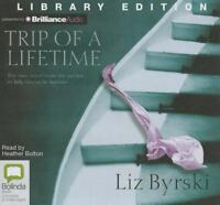 NEW Trip of a Lifetime by Liz Byrski Compact Disc Book (English) Free Shipping
