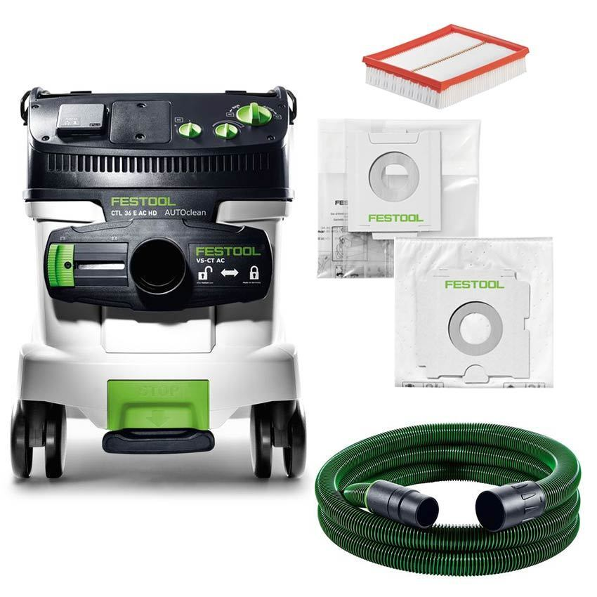 festool sauger ctl 36 e ac hd absaugmobil 584167 staubsauger klasse l baustelle ebay. Black Bedroom Furniture Sets. Home Design Ideas