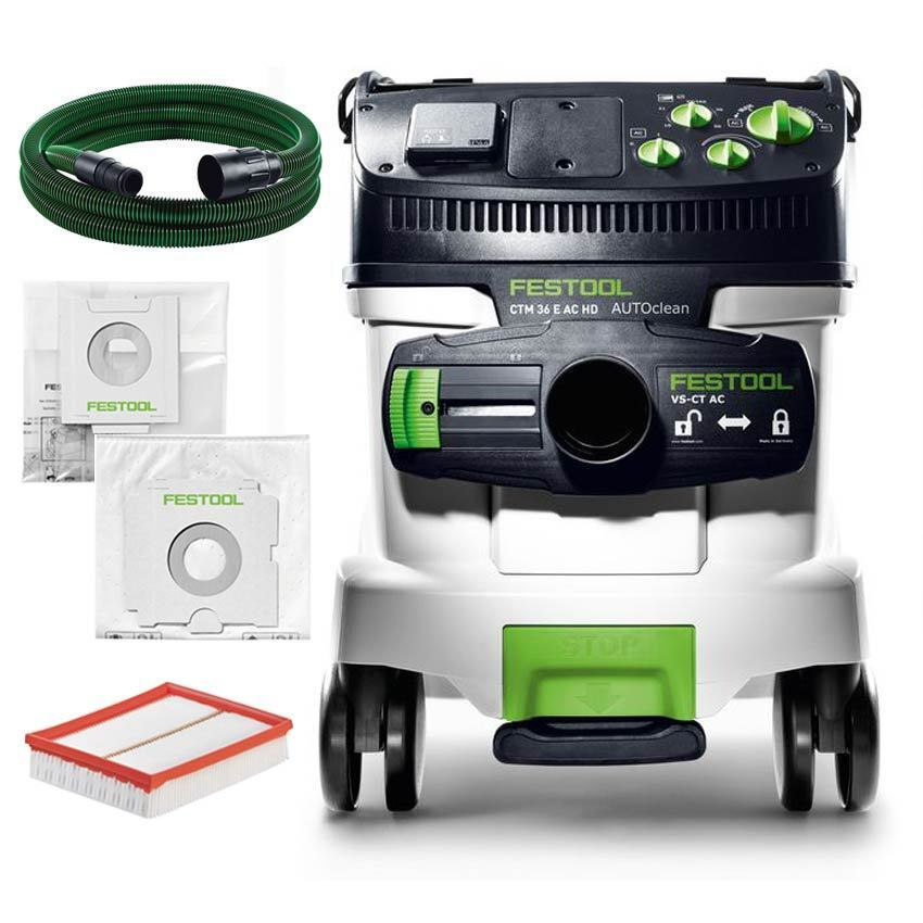 festool sauger ctm 36 e ac hd absaugmobil 584171 vcp 260 staubsauger klasse m ebay. Black Bedroom Furniture Sets. Home Design Ideas
