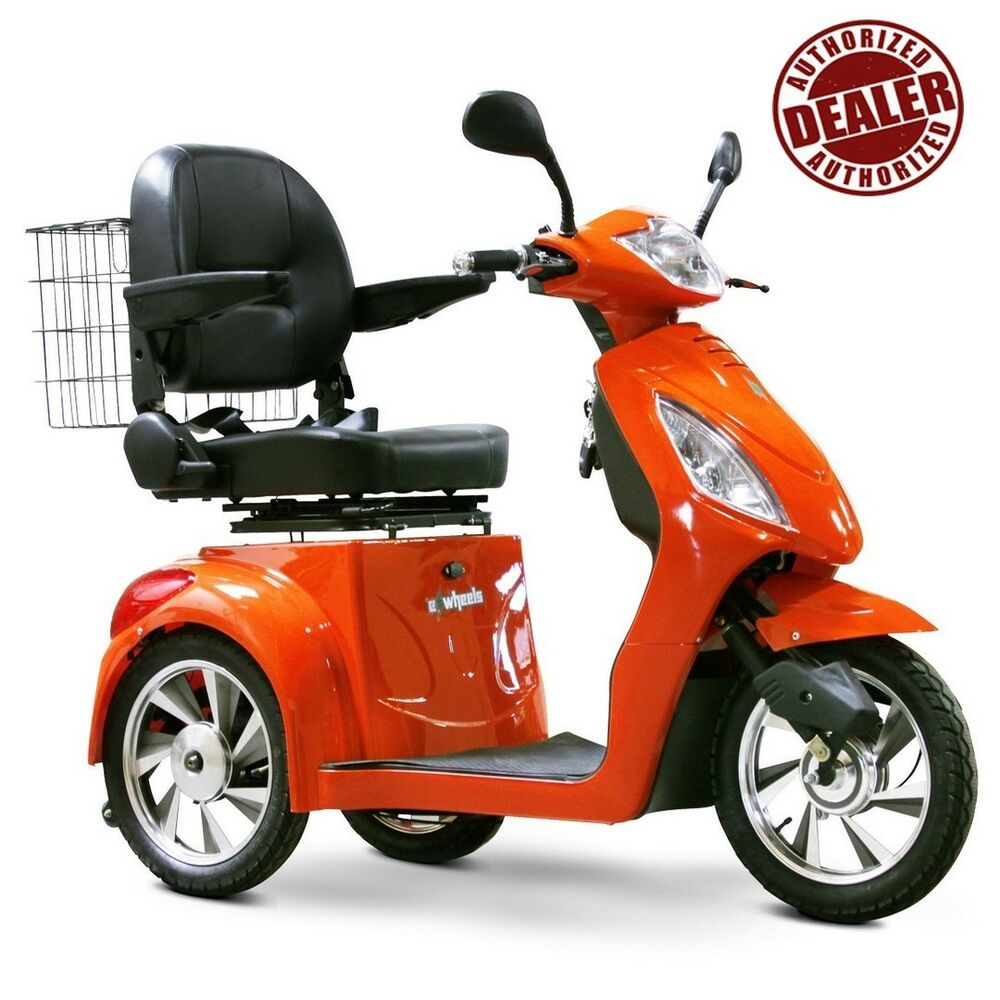 E wheels ew 36 3 wheel power mobility scooter ebay for Mobility scooters