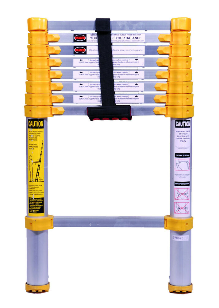 750p Xtend Amp Climb 8 5 Telescoping Extension Ladder