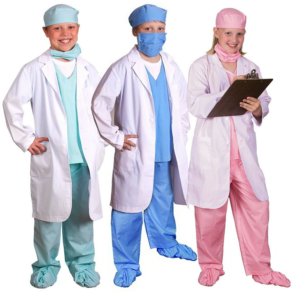 Dress Up Pretend Play Images On: Doctor Costume For Kids Dr Physician Pretend Play Dress-up